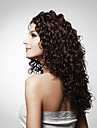 Capless lång högsta kvalitet kvalitet syntetisk lockigt hår peruk flera färger