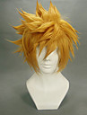 Cosplay Wigs Kingdom Hearts Roxas Golden Short Anime/ Video Games Cosplay Wigs 35 CM Heat Resistant Fiber Male