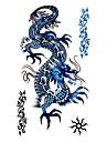 5 st dragon vattentäta tillfällig tatuering (17.5cm * 10cm)