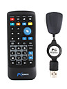 multimédias télécommande IR avec récepteur USB pour PC (1 * CR2025)