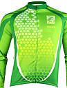 santic - för män cykling jacka med 100% polyster vintern 2011 grön färg