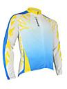 santic - för män cykling jacka med 100% polyster vintern 2011 vit färg