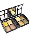 douce lueur 8 ombre à paupières couleurs avec un pinceau libre (série or)
