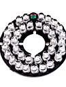 IR 35-LED-lampan ombord platta för 3.6mm objektiv CCTV säkerhet kameran