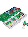 12 Colors Acrylic Paints Tube Box Set for Nail Art