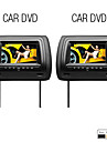 "7"" Digital Screen Car Headrest DVD Player (FM Transmitter,USB/SD,Game,FREE Headphones, 1 Pair)"