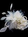 Femei Satin Pană Diadema-Nuntă Ocazie specială Pălărioare Flori