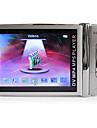 2,4 tums metallhölje MP4-spelare med 1,3 MP kamera (4 GB, silver)
