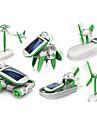 Soldrivna leksaker Grön Plast