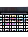 mjukt skimmer 72 färger makeup ögonskugga palett