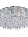 Max 40W Modern/Contemporary Crystal / Bulb Included Gold Flush Mount Living Room / Bedroom / Hallway