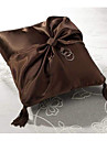 Ring Pillow In Satin With Sash And Tassels (More Colors)