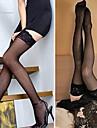 sexede blonder tynde skridsikre Lårlange sokker (flere farver)
