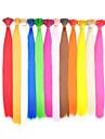 100 개 사전 보세 스틱 팁 강조 합성 머리 확장 - 12 색상 가능