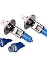 h1 100w super blanc ampoules de voiture DC 12V 1 paire (obtenir deux blubs sugnal gratuit)
