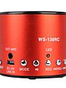fierbinte înregistrare mini-difuzor cu USB de intrare (radio FM, difuzor portabil)