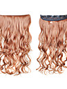 Clip in Synthetic Curly Hair Extensions with 5 Clips - 6 Colors Available