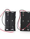 boîtier de la batterie pendant quatre piles 18650 (noir)