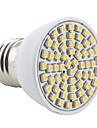 3W E26/E27 LED-spotlights MR16 60 SMD 3528 200 lm Varmvit AC 220-240 V