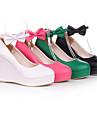 PU läder 8cm kil Sweet Lolita skor