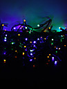 10m de 100 led coloré en mode 8-conduit lampe de chaîne de fées pour Noël (220v)