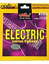 alice - (A508-sl) cordes en acier recouvertes de guitare électrique (009-042)