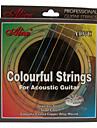 alice - (a407c) cordes en acier guitare acoustique (011-052)