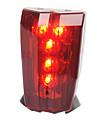 Lampe Arrière de Vélo Eclairage sécurité vélo / Ecarteur de danger LED Cyclisme Transport Facile Avertissement AAA Lumens Batterie