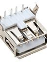à angle droit connecteur USB 2.0 mâle à (20 pièces par paquet)