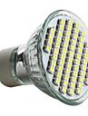 4W GU10 LED-spotlights MR16 60 SMD 3528 180 lm Naturlig vit AC 220-240 V