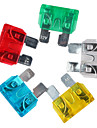 10a/15a/20a/25a/30a blade siguranțe stabilit pentru vehicule auto, pachet de 50 piese