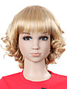 Top Grade Synthetic Lovely Fashion Wavy Blonde Children's Wig