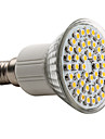 3W E14 Spot LED MR16 48 SMD 3528 150 lm Blanc Chaud AC 100-240 V