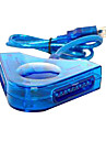 dubbla PSX till USB Controller Adapter omvandlare för PC ps2