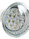1W GU10 LED-spotlights MR16 15 DIP-LED 75 lm Varmvit AC 220-240 V