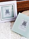 Elegant Photo Coasters in Embossed Gift Box (2 Piece Set)
