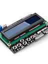 16 x 2 LCD knappsats sköld för (för Arduino) uno mega Duemilanove