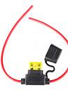 säkringshållare med tråd, 12v 20a