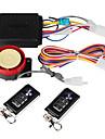 professionella 120-125 dB motorcykel larm med fjärrkontroll