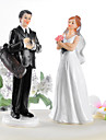 Cake Toppers Golf Fanatic Couple  Cake Topper