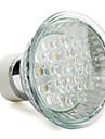 gu10 1w 100lm 2800-3500k chaude ampoule blanche Spot LED (220-240v)
