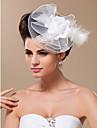 Femei Tul Diadema-Nuntă Ocazie specială Pălărioare