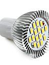 LED-spot med Naturligt Vitt Ljus - GU10 16x5630 SMD 8W 720LM 6000-6500K (220V)