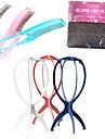 Rainbow Color Loom zig Care Set 1*Wig Cap Liner 1*Comb and 1* Wig Stands(Color Randomly Sent