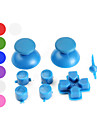 Reservknappar för PS3-kontroll (Blandade Färger)
