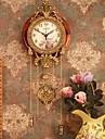 """32 """"retrostil vintage väggklocka med pendel"""