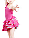 Dancewear Polyester One Shoulder Latin Dresses For Kids More Colors