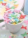 decor nunta mici în formă de Fluturas confetti hârtie - ambalaj de 350 de bucati (culoare aleatorii)