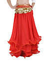 Belly Dance Skirts Women's Performance Chiffon Ruffles Dropped