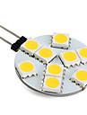 Ampoule LED Blanc Chaud (12V), G4 1.3W 9x5050 SMD 100LM